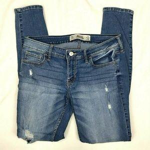 Hollister Super Skinny Distressed Jeans